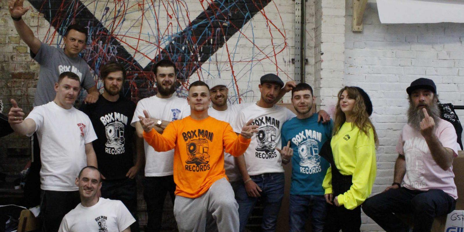 boxman records crew